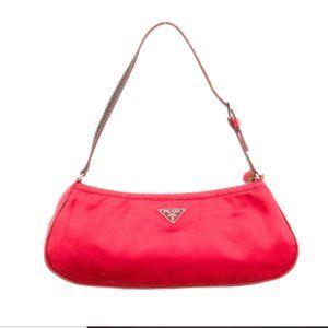 Like New Authentic PRADA Satin Mini Bag